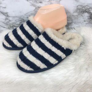 Ugg Australia striped slip on slippers size 3